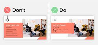 Guidelines for creating a good presentation design